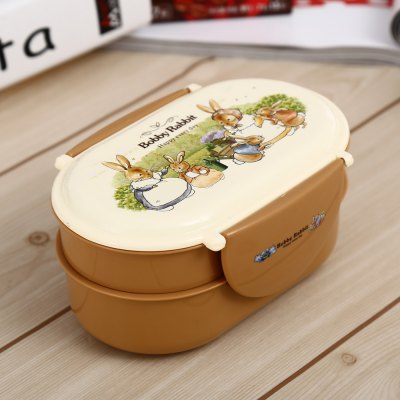 PP Dual Layer Lunch Box