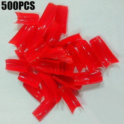 500PCS Artificial French Nail Tips
