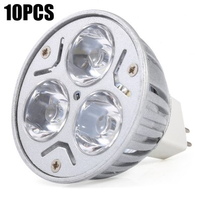 10 x YouOKLight MR16 3W 300LM Dimming LED Spot Bulb