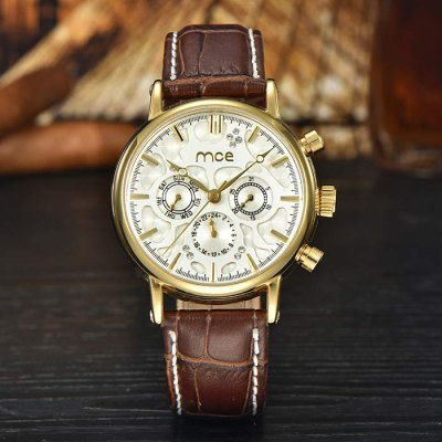 ФОТО Mce Hollow - out Automatic Mechanical Watch for Men