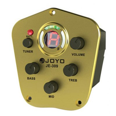 JOYO JE - 309  3 Band Equalizer with Tuner Music Instrument Accessory