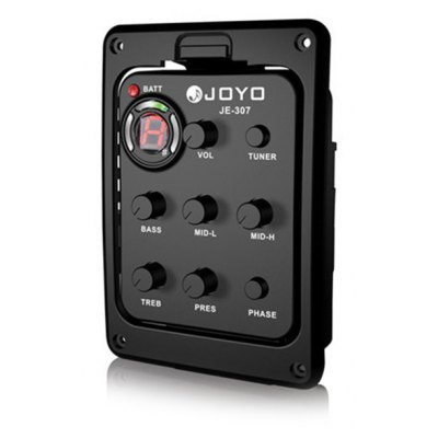JOYO JE - 307  5 Band Equalizer with Tuner Music Instrument Accessory