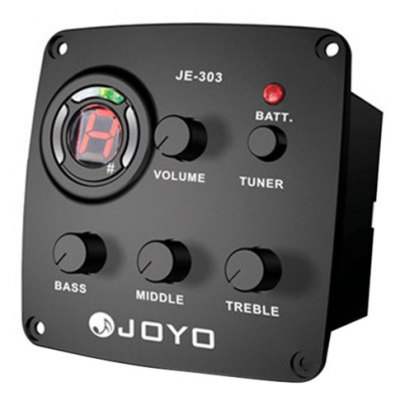 JOYO JE - 303  3 Band Equalizer with Tuner Music Instrument Accessory