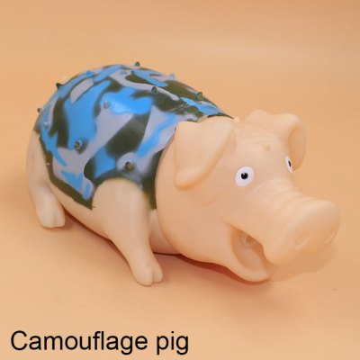 G731 Camouflage Screech Pig Vent Toy for White-collar Worker