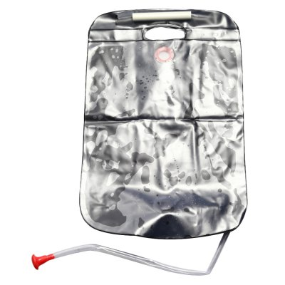 20L Portable Solar Energy Heated Shower BagOther Camping Gadgets<br>20L Portable Solar Energy Heated Shower Bag<br><br>Capacity: 20L<br>For: Traveling, Other, Camping<br>Material: PVC<br>Package Contents: 1 x 20L Foldable Solar Energy Heated Shower Bag<br>Package size (L x W x H): 29.00 x 12.00 x 4.50 cm / 11.42 x 4.72 x 1.77 inches<br>Package weight: 0.325 KG<br>Product weight: 0.295KG<br>Type: Backpack Accessories