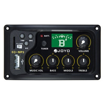 JOYO EQ - MP3  3 Band Equalizer with Tuner Music Instrument Accessory