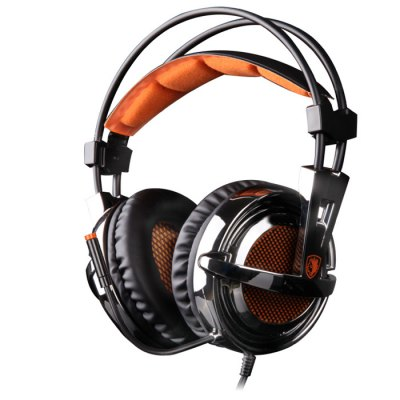 SADES SA-928 Gaming Headset with Mic 3.5mm PlugGaming Headphones<br>SADES SA-928 Gaming Headset with Mic 3.5mm Plug<br><br>Application: Computer, Computer<br>Brand: Sades<br>Cable Length (m): 1.2m, 1.2m<br>Compatible with: PS3, PS3<br>Connectivity: Wired, Wired<br>Frequency response: 20-20000Hz, 20-20000Hz<br>Function: Microphone, Microphone<br>Impedance: 16ohms, 16ohms<br>Model: SA-928<br>Package Contents: 1 x SADES SA-928 Game Headset, 1 x USB Audio Cable, 1 x RCA Audio Convert Cable, 1 x Convert Cable, 1 x English User Manual, 1 x SADES SA-928 Game Headset, 1 x USB Audio Cable, 1 x RCA Audio Convert Cable, 1 x Convert Cable, 1 x English User Manual<br>Package size (L x W x H): 9.00 x 22.00 x 23.50 cm / 3.54 x 8.66 x 9.25 inches, 9.00 x 22.00 x 23.50 cm / 3.54 x 8.66 x 9.25 inches<br>Package weight: 0.660 kg, 0.660 kg<br>Plug Type: 3.5mm, 3.5mm<br>Product size (L x W x H): 8.00 x 19.00 x 20.00 cm / 3.15 x 7.48 x 7.87 inches, 8.00 x 19.00 x 20.00 cm / 3.15 x 7.48 x 7.87 inches<br>Product weight: 0.242 kg, 0.242 kg<br>Sensitivity: 111 dB ± 3dB, 111 dB ± 3dB<br>Wearing type: Headband