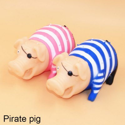 F634 Pirate Screech Pig Vent Toy for White-collar Worker