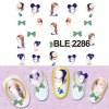 5PCS Pretty Girl Designs Nail Sticker Decals deal
