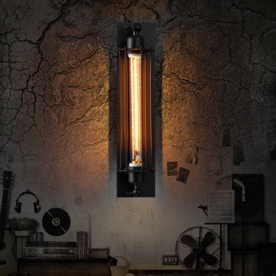 Edison Flute Wall Lamp Sconce