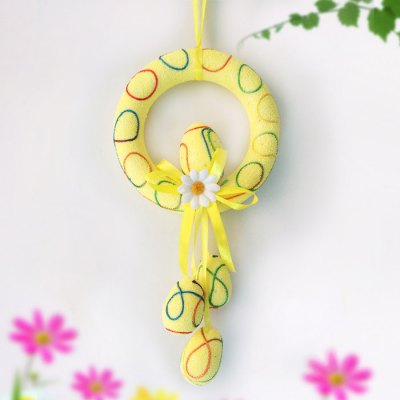 Foam Ring Colorful Easter Egg PendantCrafts<br>Foam Ring Colorful Easter Egg Pendant<br><br>Material: Foam<br>Usage: Birthday,Christmas,Easter,Halloween,New Year,Others,Party,Performance,Stage,Wedding<br>Color: Blue,Orange,Yellow<br>Product weight: 0.050KG<br>Package weight: 0.100 KG<br>Product size (L x W x H): 16.00 x 2.00 x 28.00 cm / 6.3 x 0.79 x 11.02 inches<br>Package size (L x W x H): 19.00 x 5.00 x 20.00 cm / 7.48 x 1.97 x 7.87 inches<br>Package Contents: 1 x Easter Egg Pendant