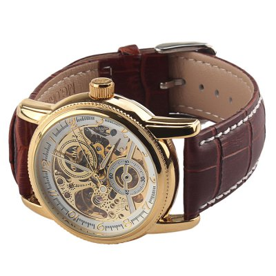 ФОТО Orkina Decorative Sub-dial Hollow-out Male Automatic Mechanical Watch