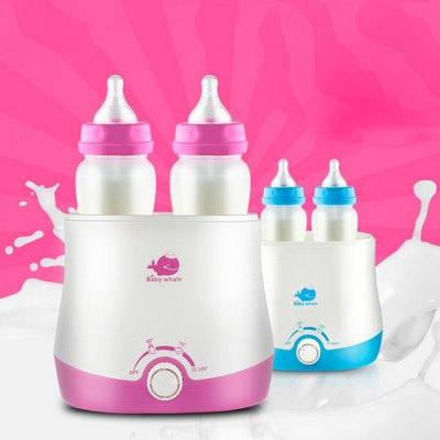 Baby Whale JJ16033 Mini Warm Milk Heater / Bottle Sterilizer