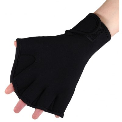 One Pair Diving Webbed Gloves