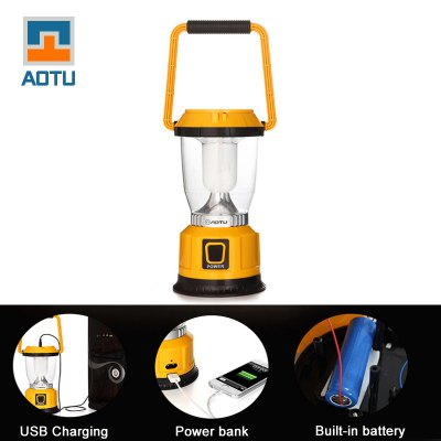 AOTU LSC-9028 Solar USB Rechargeable Camping Lantern