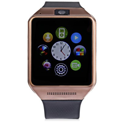King Wear GV08 Smartwatch PhoneSmart Watch Phone<br>King Wear GV08 Smartwatch Phone<br><br>Type: Watch Phone<br>CPU: MTK6260<br>External memory: TF card up to 32GB (not included)<br>Network type: GSM<br>Frequency: GSM850/900/1800/1900MHz<br>Bluetooth: Yes<br>Bluetooth version: V3.0<br>Screen type: Capacitive<br>Screen size: 1.54 inch<br>IPS: Yes<br>Screen resolution: 240 x 240<br>Camera type: Single camera<br>Front camera: 0.3MP<br>Video recording: Yes<br>SIM Card Slot: Single SIM(Micro SIM slot)<br>TF card slot: Yes<br>Micro USB Slot: Yes<br>Picture format: JPEG,PNG<br>Music format: MP3<br>Video format: AVI,MP4<br>Languages: English, French, Spanish, Portuguese, Italian, Dutch, Russian, Turkish, German, Polish<br>Additional Features: Alarm,Bluetooth,Browser,Calculator...,Calendar,MP3,MP4,People,Sound Recorder<br>Cell Phone: 1<br>Screen Protector: 1<br>Battery: 1 x 380mAh<br>Power Adapter: 1<br>USB Cable: 1<br>English Manual : 1<br>Product size: 5.20 x 4.00 x 1.30 cm / 2.05 x 1.57 x 0.51 inches<br>Package size: 9.80 x 9.80 x 7.80 cm / 3.86 x 3.86 x 3.07 inches<br>Product weight: 0.050 kg<br>Package weight: 0.240 kg