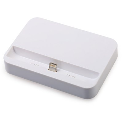 Portable 8 Pin Dock Station ChargeriPhone Cables &amp; Adapters<br>Portable 8 Pin Dock Station Charger<br><br>Type: Base Dock Charger<br>Interface Type: 8 pin<br>Product weight: 0.046 kg<br>Package weight: 0.072 kg<br>Product size (L x W x H): 8.30 x 5.80 x 1.40 cm / 3.27 x 2.28 x 0.55 inches<br>Package size (L x W x H): 8.50 x 6.50 x 2.00 cm / 3.35 x 2.56 x 0.79 inches<br>Package Contents: 1 x 8 Pin Base Dock Charger