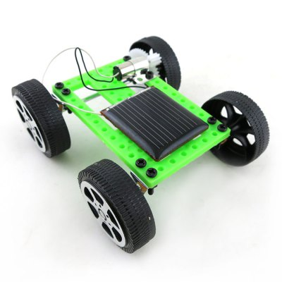DIY Solar Car Mini No.2 Simple Model Science Toy with Solar PanelSolar Powered Toys<br>DIY Solar Car Mini No.2 Simple Model Science Toy with Solar Panel<br><br>Type: Solar Powered Cars<br>Material: ABS<br>Completeness: DIY Module<br>Package weight: 0.052 kg<br>Product size: 8.00 x 7.50 x 3.20 cm / 3.15 x 2.95 x 1.26 inches<br>Package size: 10.00 x 9.00 x 5.00 cm / 3.94 x 3.54 x 1.97 inches<br>Package Contents: 1 x DIY Car Accessory Set, 1 x English User Manual