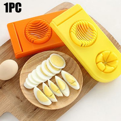 Multi-functional 2 in 1 ABS Boiled Egg Cutter Mold