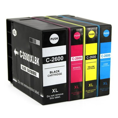 INK-TANK C-2600XLC 22ml Spare Ink CartridgeOffice Supplies<br>INK-TANK C-2600XLC 22ml Spare Ink Cartridge<br><br>Brand: INK-TANK<br>Color: Cyan,Magenta,Yellow<br>Product weight: 0.070 kg<br>Package weight: 0.115 kg<br>Product size (L x W x H): 9.30 x 1.60 x 11.80 cm / 3.66 x 0.63 x 4.65 inches<br>Package size (L x W x H): 10.30 x 2.60 x 12.80 cm / 4.06 x 1.02 x 5.04 inches<br>Package Contents: 1 x INK-TANK C-2600XLC 22ml Spare Ink Cartridge