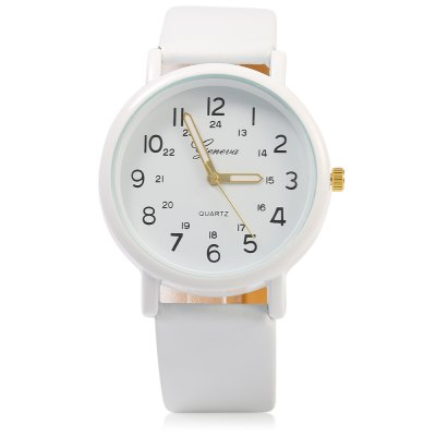 Geneva 1091 Double Scale Unisex Quartz Watch Leather BandGeneva 1091 Double Scale Unisex Quartz Watch Leather Band<br><br>Brand: Geneva<br>People: Unisex table<br>Watch style: Fashion<br>Available color: Black,White<br>Shape of the dial: Round<br>Movement type: Quartz watch<br>Display type: Analog<br>Case material: Stainless Steel<br>Case color: White<br>Band material: Leather<br>Clasp type: Pin buckle<br>The dial thickness: 1.0 cm / 0.39 inches<br>The dial diameter: 3.8 cm /1.50 inches<br>The band width: 2.0 cm / 0.79 inches<br>Wearable length: 18.5 - 22.0 cm / 7.28 - 8.66 inches<br>Product weight: 0.029 kg<br>Package weight: 0.059 kg<br>Product size (L x W x H): 24.00 x 4.20 x 1.00 cm / 9.45 x 1.65 x 0.39 inches<br>Package size (L x W x H): 25.00 x 5.20 x 2.00 cm / 9.84 x 2.05 x 0.79 inches<br>Package Contents: 1 x Unisex Watch