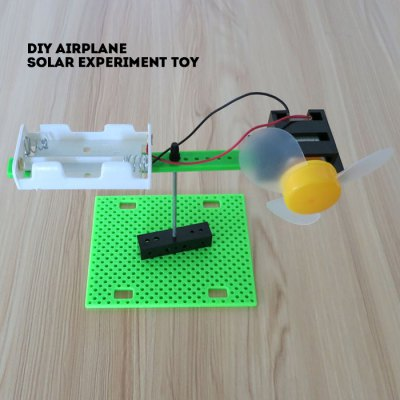 DIY Mini Airplane No.2 Experiment Toy Battery Operated Physics Handwork