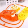 cheap Multi-functional 2 in 1 ABS Boiled Egg Cutter Mold