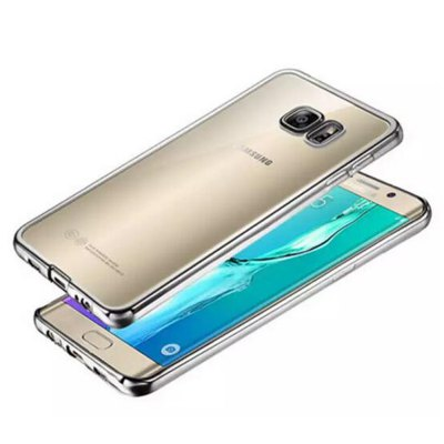 ФОТО ASLING TPU Soft Protective Case for Samsung Galaxy S7 Edge Electroplated Frame
