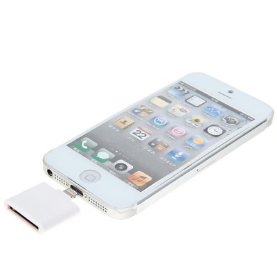Mini  to 30-pin Connector Adapter for iPhone 5