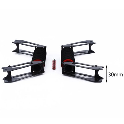2Pcs Spare Handheld Take-off Carbon Fiber Landing Skid for DJI Inspire 1 QuadcopterMulti Rotor Parts<br>2Pcs Spare Handheld Take-off Carbon Fiber Landing Skid for DJI Inspire 1 Quadcopter<br><br>Type: Landing Gear<br>Material: Carbon Fiber, Metal, Sponge<br>Brand: DJI<br>Product weight: 0.129 kg<br>Package weight: 0.160 kg<br>Product size (L x W x H): 26.00 x 3.00 x 10.00 cm / 10.24 x 1.18 x 3.94 inches<br>Package size (L x W x H): 26.00 x 30.00 x 10.00 cm / 10.24 x 11.81 x 3.94 inches<br>Package Contents: 2 x Landing Gear, 1 x Screw Set