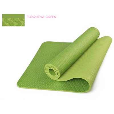 183 x 61 x 0.6cm TPE Yoga MatYoga Accessories<br>183 x 61 x 0.6cm TPE Yoga Mat<br><br>Color: Black,Blue,Green,Pink,Purple<br>Material: TPE<br>Thickness: 6mm<br>Size: 183x61cm<br>Product weight: 0.900KG<br>Package weight: 1.100 KG<br>Product size: 183.00 x 61.00 x 0.60 cm / 72.05 x 24.02 x 0.24 inches<br>Package size: 20.00 x 20.00 x 62.00 cm / 7.87 x 7.87 x 24.41 inches<br>Package Content: 1 x Yoga Mat, 1 x Bag, 1 x Cable