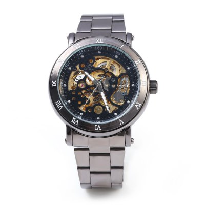 SHENHUA CGX 20 Male Automatic Mechanical WatchMens Watches<br>SHENHUA CGX 20 Male Automatic Mechanical Watch<br><br>Brand: SHENHUA<br>Watches categories: Male table<br>Movement type: Automatic mechanical watch<br>Shape of the dial: Round<br>Display type: Analog<br>Case material: Stainless Steel<br>Band material: Stainless Steel<br>Clasp type: Folding clasp with safety<br>The dial thickness: 13 mm<br>The dial diameter: 42 mm<br>The band width: 20 mm<br>Wearable length: 206 mm<br>Product weight: 0.110 kg<br>Package weight: 0.150 kg<br>Product size (L x W x H): 20.60 x 4.60 x 1.30 cm / 8.11 x 1.81 x 0.51 inches<br>Package size (L x W x H): 11.30 x 5.60 x 2.30 cm / 4.45 x 2.20 x 0.91 inches<br>Package Contents: 1 ? SHENHUA CGX 20 Male Automatic Mechanical Watch