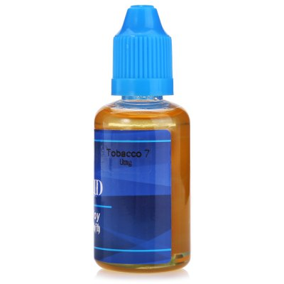 Pirate Tobacco 7 E-liquid for E CigaretteE-liquid<br>Pirate Tobacco 7 E-liquid for E Cigarette<br><br>Accessories type: E-juice<br>Brand: Pirate<br>E-Liquid Capacity: 30ml<br>E-Liquid Concentration: 0mg<br>E-liquid Concentration Range: 0mg<br>E-Liquid Flavor: Tobacco Style<br>E-liquid Flavor Type: Tobacco series<br>Material: Liquid, PET<br>Package Contents: 1 x Pirate Tobacco 7 Tobacco Style Flavor E-liquid<br>Package size (L x W x H): 4.00 x 4.00 x 9.20 cm / 1.57 x 1.57 x 3.62 inches<br>Package weight: 0.053 kg<br>Product size (L x W x H): 3.00 x 3.00 x 8.20 cm / 1.18 x 1.18 x 3.23 inches<br>Product weight: 0.042 kg<br>Type: Electronic Cigarettes Accessories