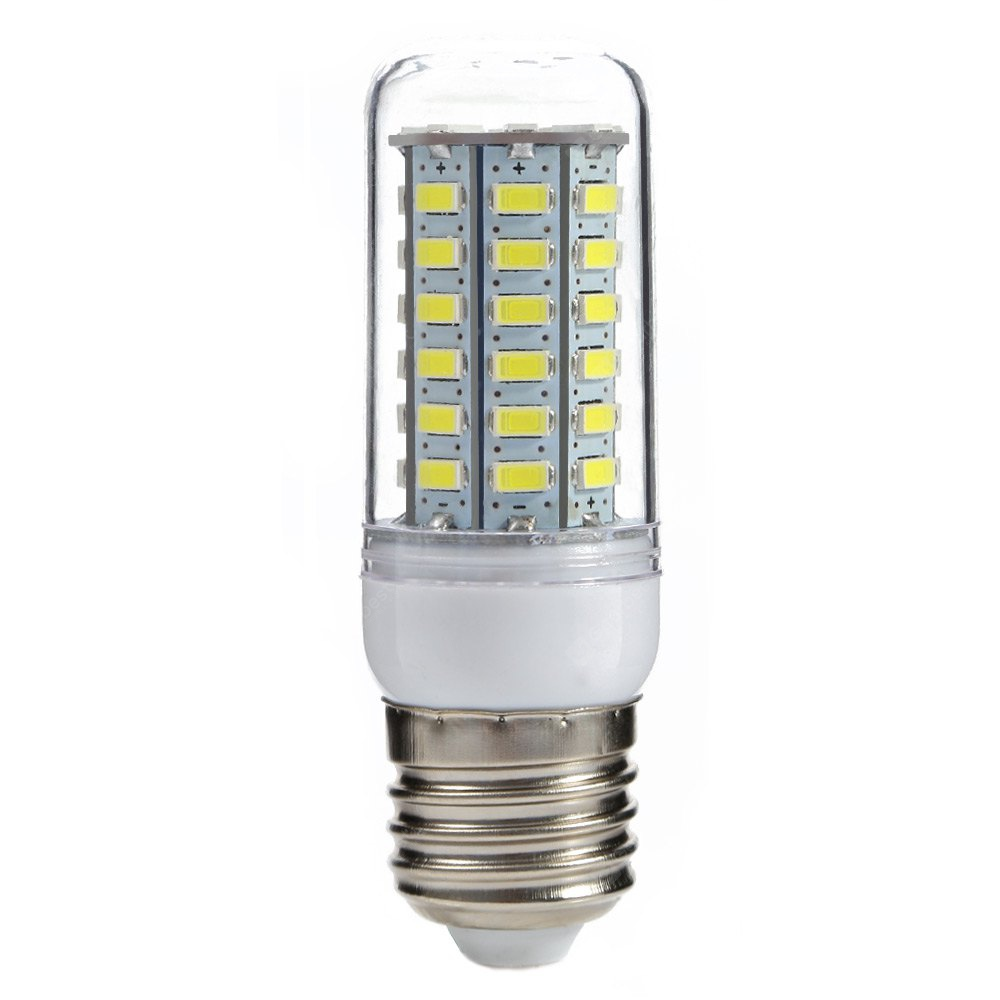 E27 5W 500LM SMD-5730 56 LEDs Corn Light COOL WHITE LIGHT