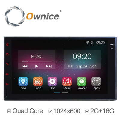 Ownice C200-OL-7001B Android 4.4.2 7.0 inch Car GPS Multi-Media Player