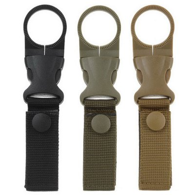 3pcs Tactical Molle Webbing Belt Hanging Carabiner