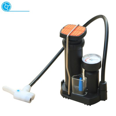Kecheng High Pressure Portable Foot-on Bicycle Inflator