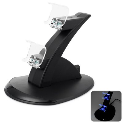 Dual USB Charging Stand for PS4 Controller