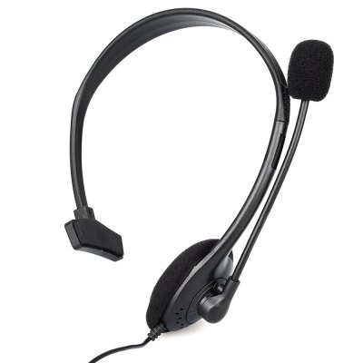 One Side Small Headset for PS4 3.5mm Jack with Microphone