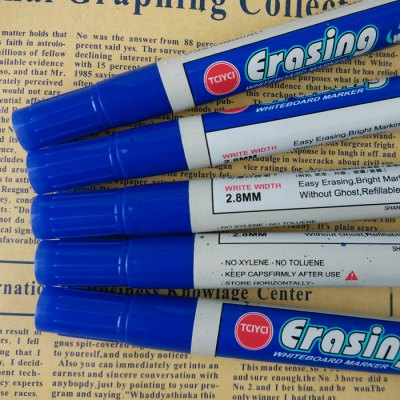 WB528 Erasable Whiteboard Marker - 10PCSStationery Supplies<br>WB528 Erasable Whiteboard Marker - 10PCS<br><br>Available color: Black,Blue,Red<br>Product weight: 0.144 kg<br>Package weight: 0.178 kg<br>Product size (L x W x H): 14.10 x 1.73 x 1.73 cm / 5.55 x 0.68 x 0.68 inches<br>Package size (L x W x H): 15.10 x 8.10 x 3.20 cm / 5.94 x 3.19 x 1.26 inches<br>Package Contents: 10 x WB528 Erasable Whiteboard Marker
