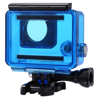 30m Water Resistance IPX8 Waterproof Housing CaseAction Cameras &amp; Sport DV Accessories<br>30m Water Resistance IPX8 Waterproof Housing Case<br><br>Accessory type: Protective Cases/Housing<br>Apply to Brand: Gopro<br>Compatible with: Gopro Hero 3 Plus, Gopro Hero 4<br>IPXX Rating: IPX8<br>Material: PC, Metal<br>Package Contents: 1 x Waterproof Housing + Base + Screw, 1 x Waterproof Housing Back Door<br>Package size (L x W x H): 9.00 x 10.00 x 7.00 cm / 3.54 x 3.94 x 2.76 inches<br>Package weight: 0.120 kg<br>Product size (L x W x H): 6.70 x 7.40 x 4.00 cm / 2.64 x 2.91 x 1.57 inches<br>Product weight: 0.058 kg<br>Waterproof: Yes