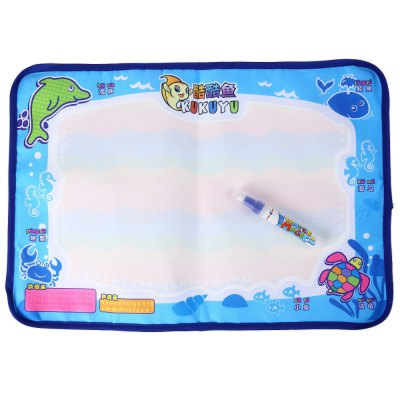 Magical Colorful Babies Water Doodle Mat Painting Educational Toy