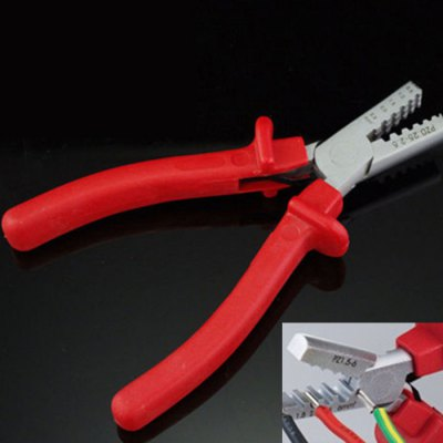 Cable End-sleeves Ferrules Crimping Crimper Plier