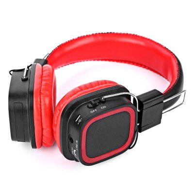 AT-BT814 Bluetooth Rotatable Stereo Headphones with Mic TF Card Slot