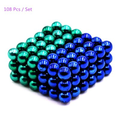 5mm Round Shape Magnetic Ball Puzzle - 108Pcs