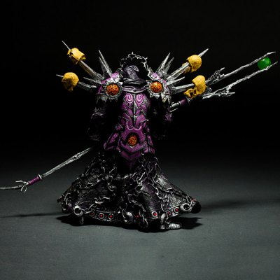 Undead Warlock Figure Toy Table Bookshelf Ornamentation Gift for KidsGame Accessories<br>Undead Warlock Figure Toy Table Bookshelf Ornamentation Gift for Kids<br><br>Model: Undead Warlock<br>Game Accessories Type: Figure<br>Material: PVC<br>Product weight: 0.200 kg<br>Package weight: 0.330 kg<br>Product size: 6.00 x 12.00 x 16.00 cm / 2.36 x 4.72 x 6.30 inches<br>Package size: 8.00 x 15.00 x 20.00 cm / 3.15 x 5.91 x 7.87 inches<br>Package Contents: 1 x Action Figure