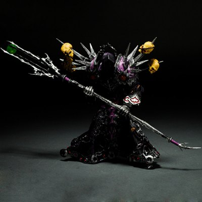 Undead Warlock Figure Toy Table Bookshelf Ornamentation Gift for Kids