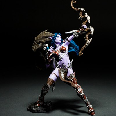 Night Elf Hunter Figure Toy Table Bookshelf Ornamentation Gift for Kids