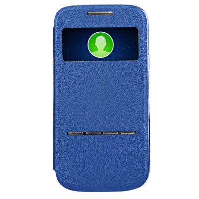 ФОТО Matte Leather Protective Skin for Samsung Galaxy S4 Mini