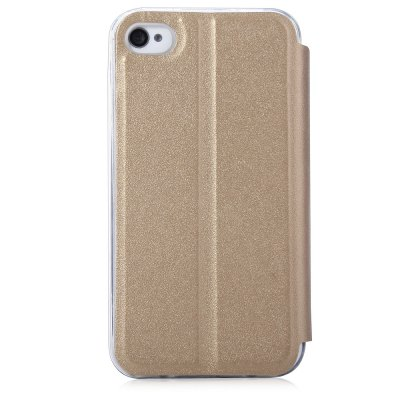 Matte Leather Protective Skin for iPhone 4 / 4s
